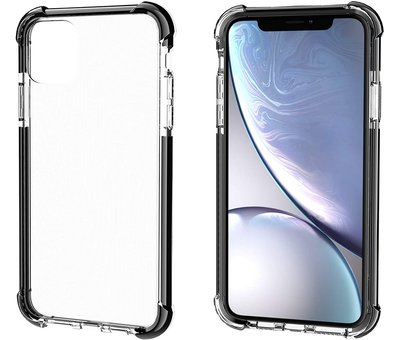 ShieldCase® ShieldCase bumper shock case iPhone 12 Mini - 5.4 inch (zwart)