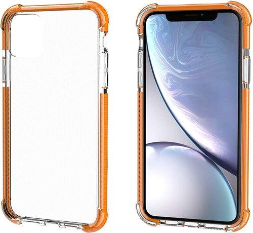 ShieldCase® ShieldCase bumper shock case iPhone 12 Mini - 5.4 inch (oranje)