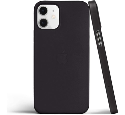 ShieldCase® ShieldCase Extreem dun iPhone 12 Mini hoesje - 5.4 inch (zwart)