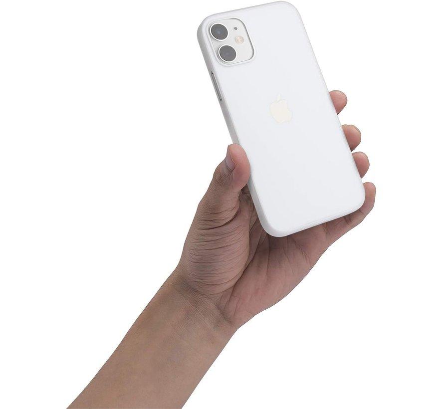 ShieldCase Extreem dun iPhone 12 Mini hoesje - 5.4 inch (transparant)