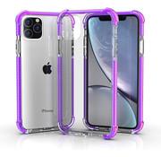 ShieldCase® Bumper shock case iPhone 12 Pro - 6.1 inch (paars)