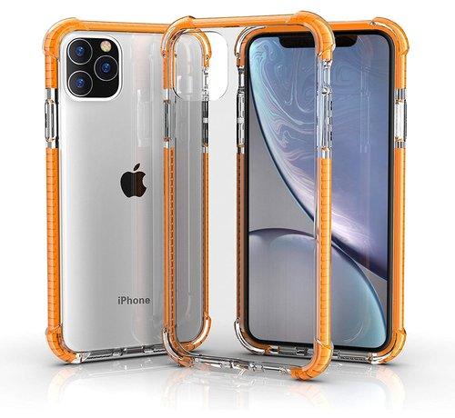 ShieldCase® ShieldCase bumper shock case iPhone 12 Pro - 6.1 inch (oranje)