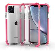 ShieldCase® Bumper shock case iPhone 12 Pro - 6.1 inch (roze)