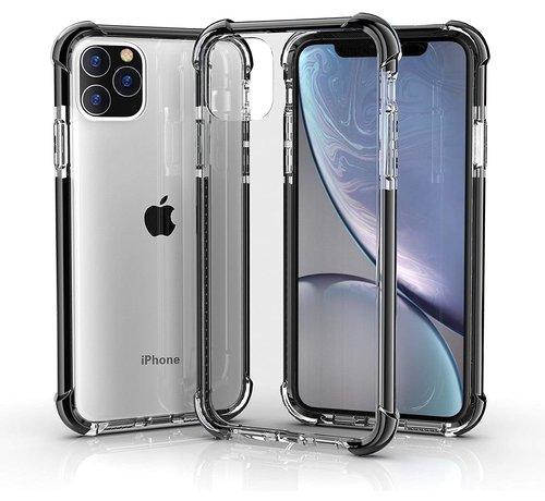 ShieldCase® ShieldCase bumper shock case iPhone 12 Pro - 6.1 inch (zwart)