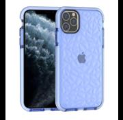 ShieldCase® Diamanten case iPhone 12 Pro  - 6.1 inch (blauw)