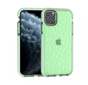 ShieldCase® Diamanten case iPhone 12 Pro  - 6.1 inch (groen)