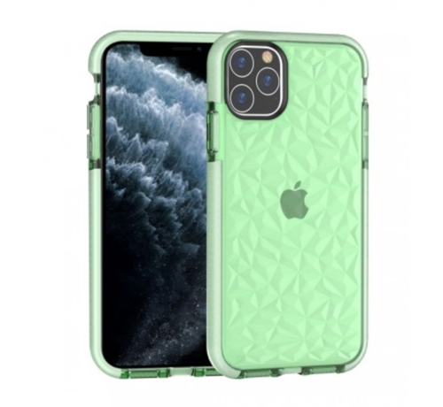 ShieldCase® ShieldCase diamanten case iPhone 12 Pro - 6.1 inch (groen)