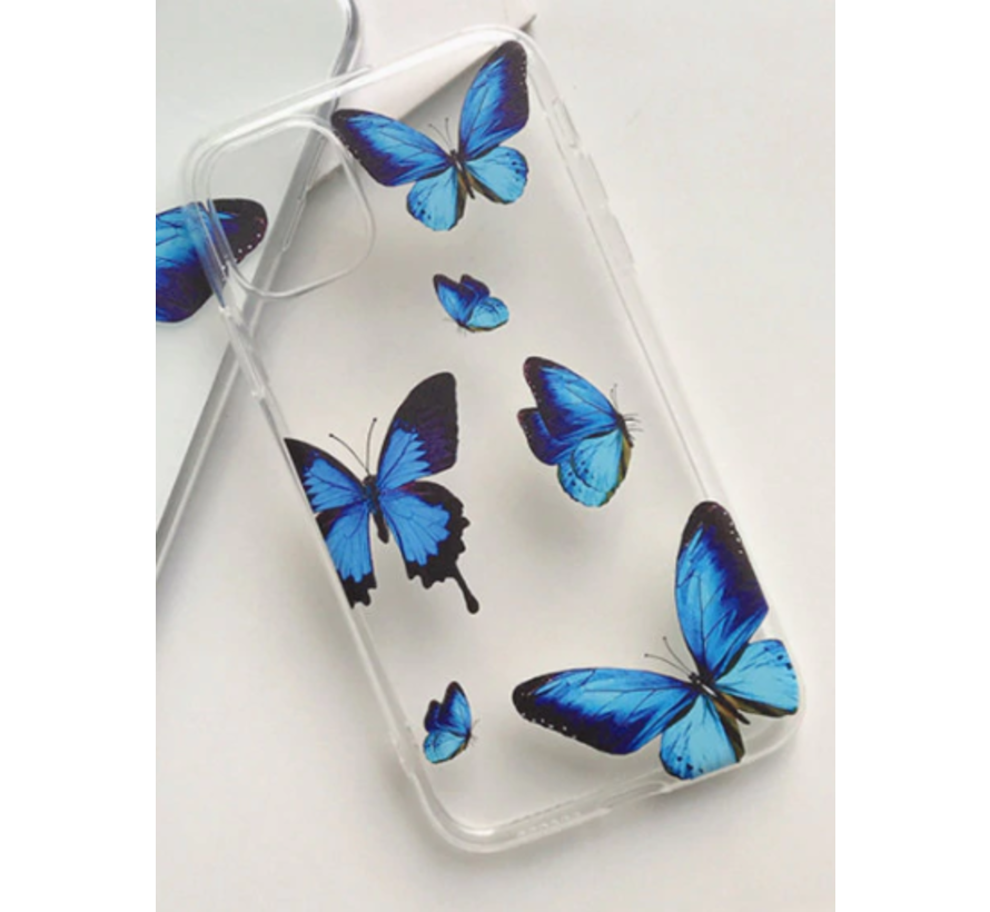 ShieldCase iPhone 12 Pro - 6.1 inch hoesje met vlinders
