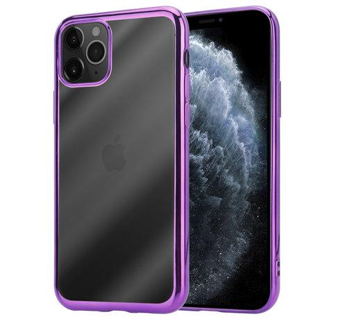 ShieldCase® ShieldCase Metallic bumper case iPhone 12 Pro - 6.1 inch (paars)