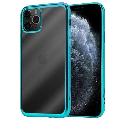 ShieldCase® ShieldCase Metallic bumper case iPhone 12 Pro - 6.1 inch (groen)