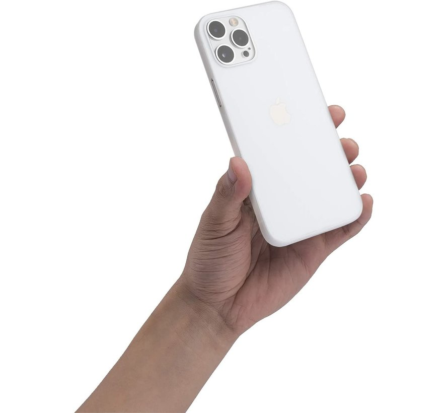 ShieldCase Extreem dun iPhone 12 Pro hoesje - 6.1 inch (transparant)