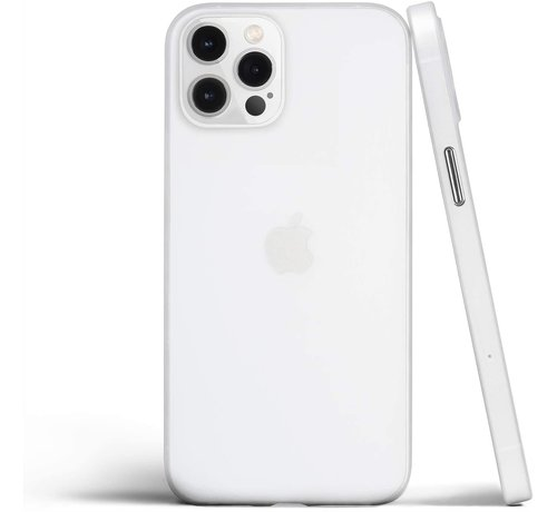 ShieldCase® ShieldCase Extreem dun iPhone 12 Pro hoesje - 6.1 inch (transparant)
