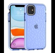 ShieldCase® Diamanten case iPhone 12 Mini - 5.4 inch (blauw)