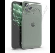ShieldCase® Siliconen hoesje met camera bescherming iPhone 12 Pro - 6.1 inch (transparant)