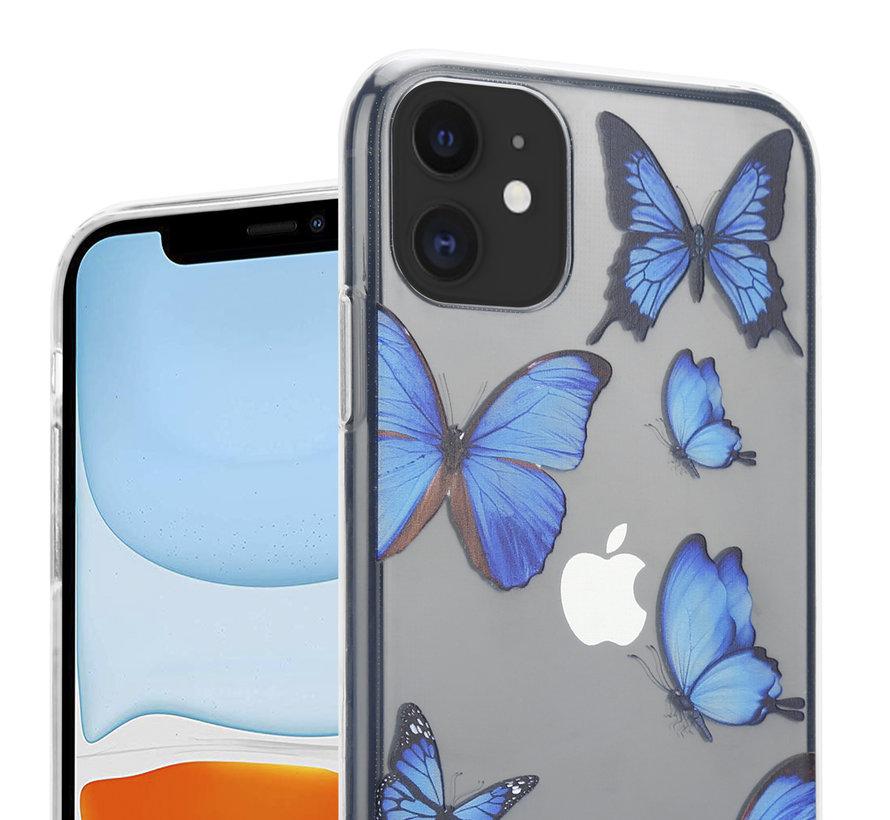 ShieldCase iPhone 12 Mini - 5.4 inch hoesje met vlinders