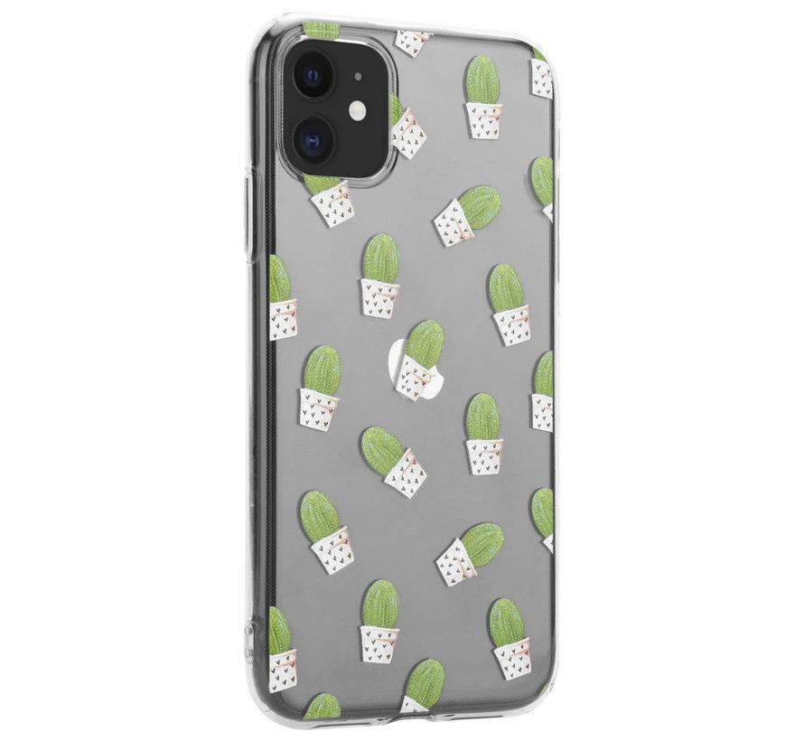 ShieldCase Cute Cactus iPhone 12 Mini - 5.4 inch hoesje