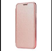 ShieldCase® Gegalvaniseerde flipcase iPhone 12 Pro - 6.1 inch (roze)