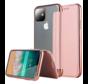 ShieldCase Gegalvaniseerde flipcase iPhone 12 Mini - 5.4 inch (roze)