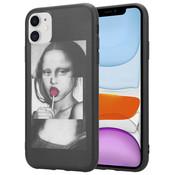 ShieldCase® iPhone 12 Mini - 5.4 inch hoesje Mona Lisa