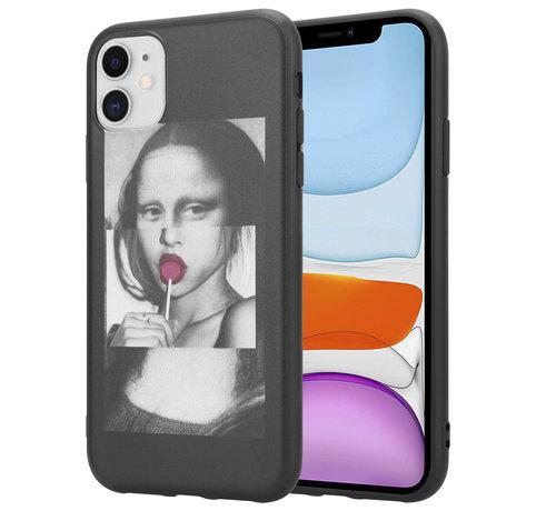 ShieldCase® ShieldCase iPhone 12 Mini - 5.4 inch hoesje Mona Lisa