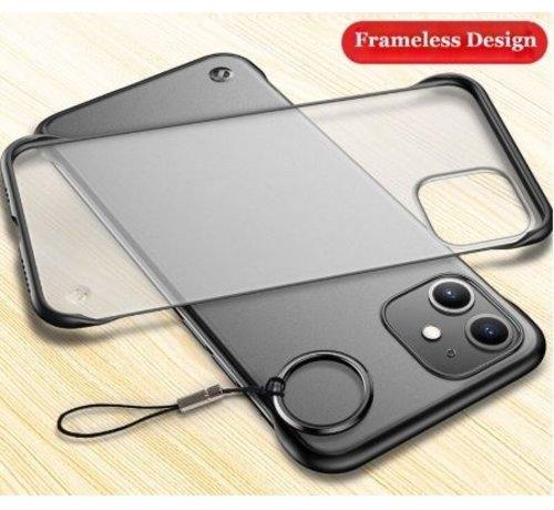 ShieldCase® ShieldCase iPhone 12 Mini - 5.4 inch slim case met bumpers (zwart)