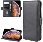 ShieldCase® Leren Bookcase iPhone 12 Pro - 6.1 inch (zwart)