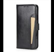ShieldCase® iPhone 12 Mini - 5.4 inch uitneembare book case (zwart)