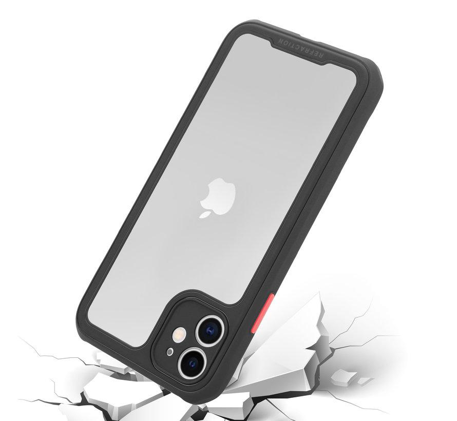 Shieldcase iPhone 12 Mini - 5.4 inch full protection case (zwart)