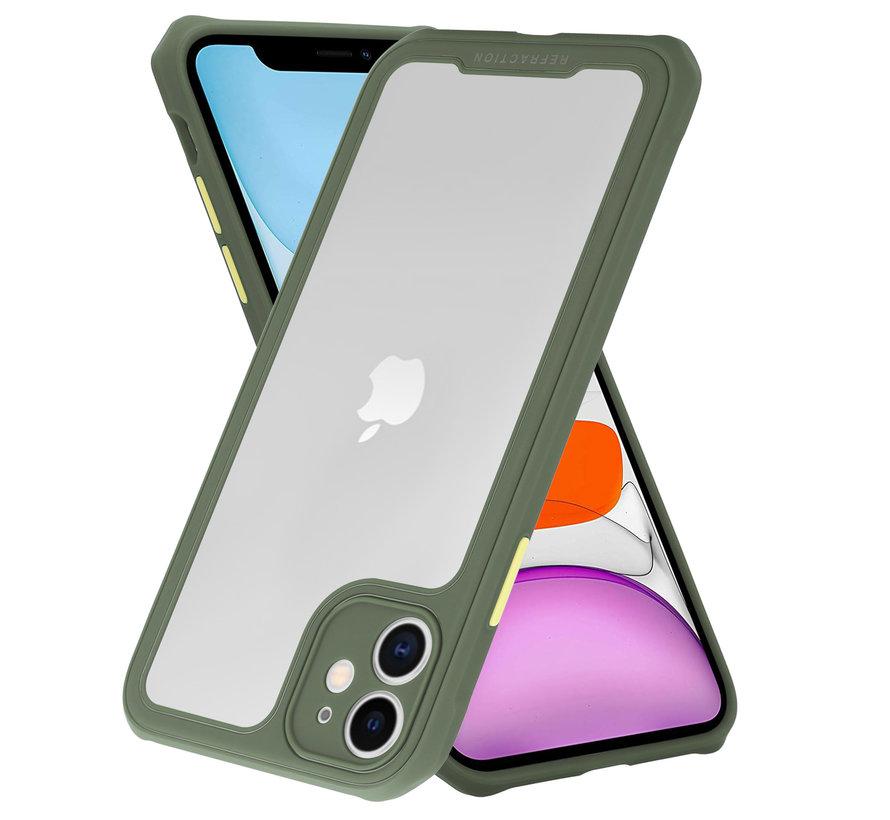 Shieldcase iPhone 12 Mini - 5.4 inch full protection case (groen)