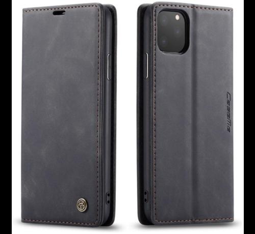 CaseMe CaseMe Luxe bookcase iPhone 12 Pro - 6.1 inch (zwart)
