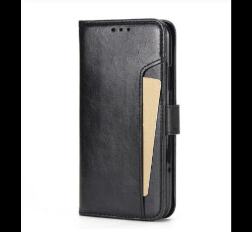 ShieldCase® ShieldCase iPhone 12 Pro - 6.1 inch uitneembare book case (zwart)