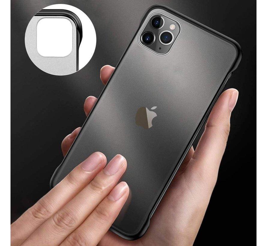 ShieldCase iPhone 12 Pro - 6.1 inch slim case met bumpers (zwart)