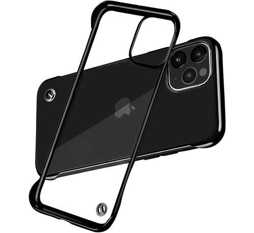 ShieldCase® ShieldCase iPhone 12 Pro - 6.1 inch slim case met bumpers (zwart)