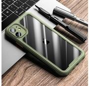 ShieldCase® iPhone 12 Pro - 6.1 inch full protection case (groen)