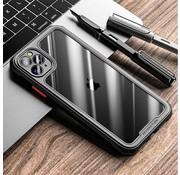 ShieldCase® iPhone 12 Pro - 6.1 inch full protection case (zwart)
