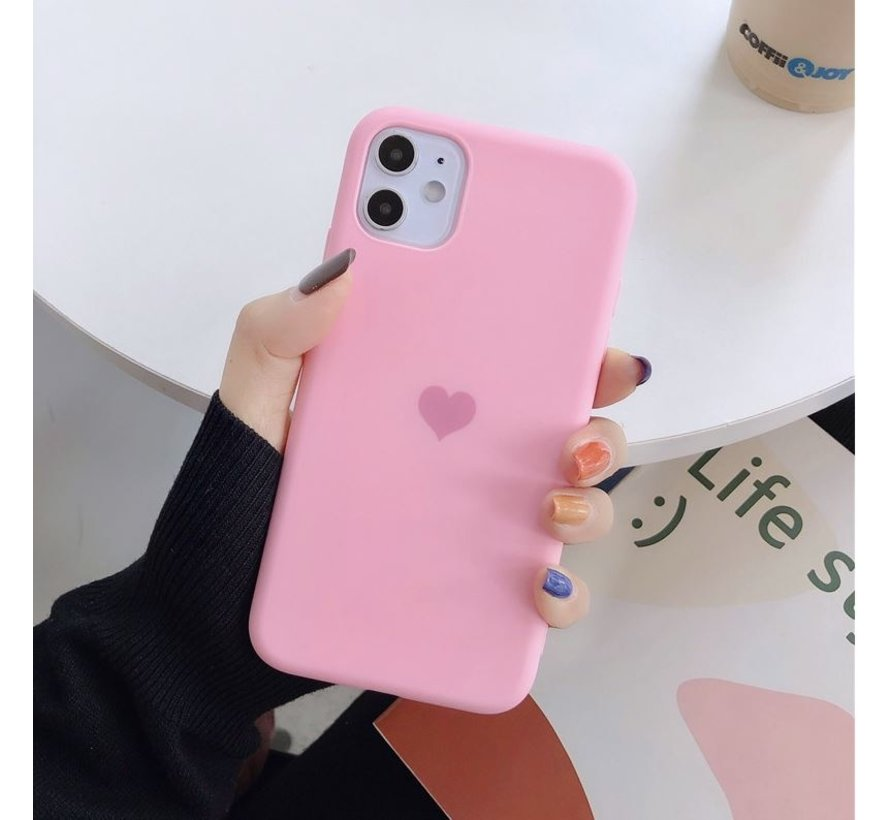 ShieldCase LOVE Silicone case iPhone 11 Pro (roze)