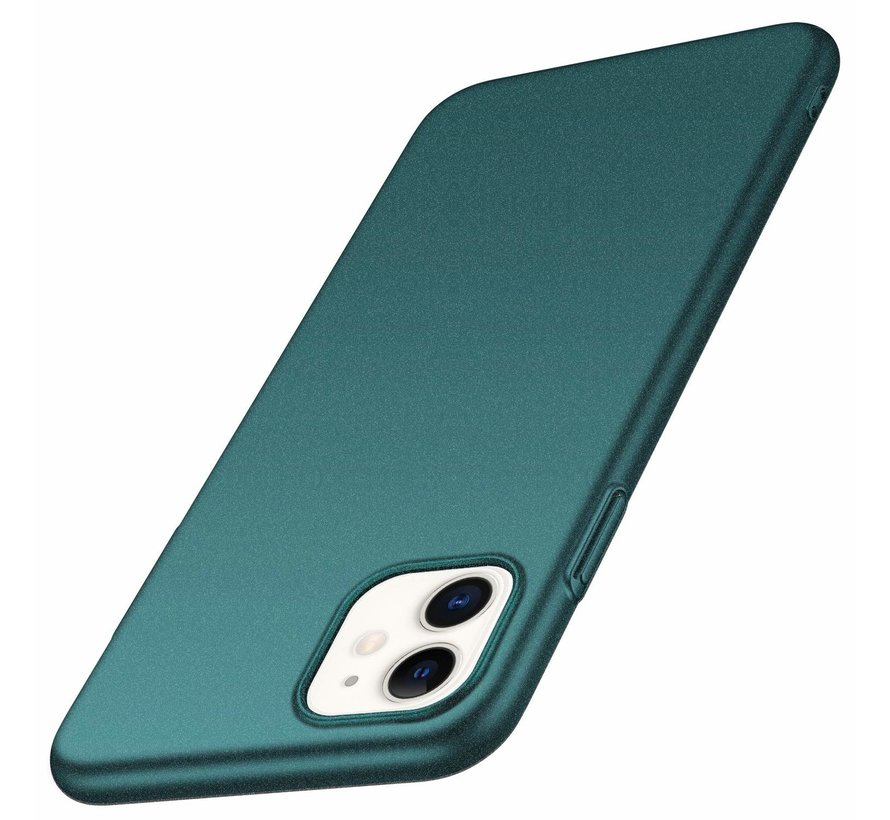 Shieldcase Ultra thin case iPhone 12 - 6.1 inch (groen)