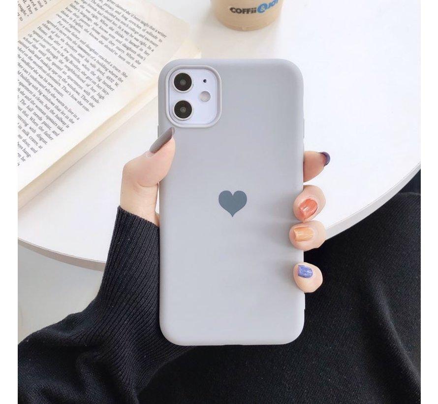 ShieldCase LOVE Silicone case iPhone 11 Pro (grijs)