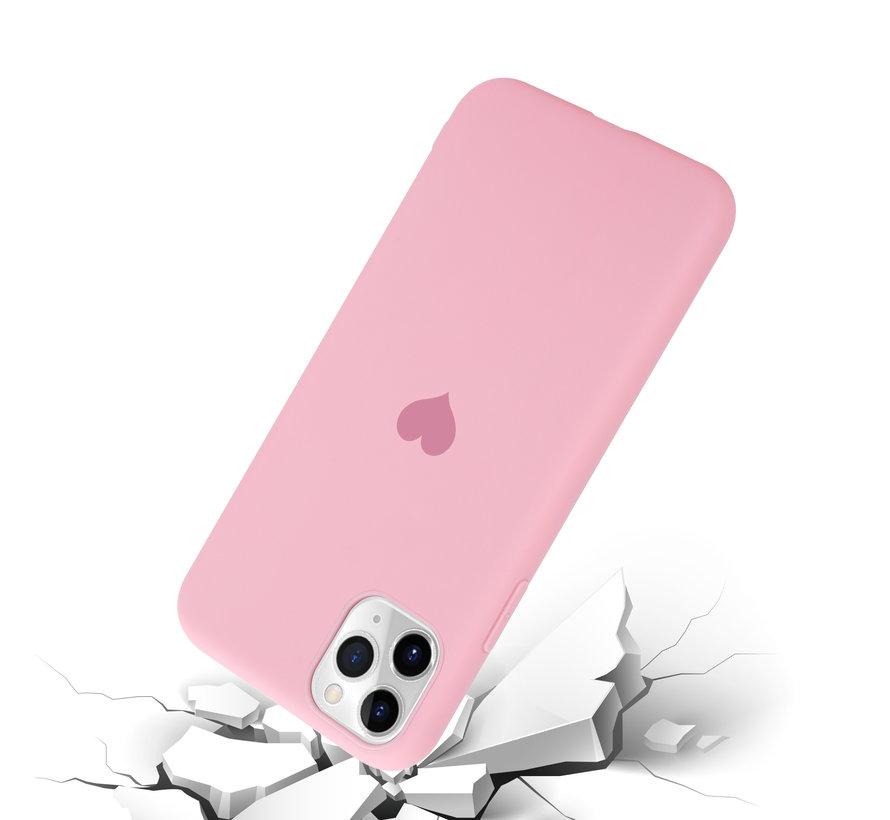 ShieldCase LOVE Silicone case iPhone 11 Pro Max (roze)