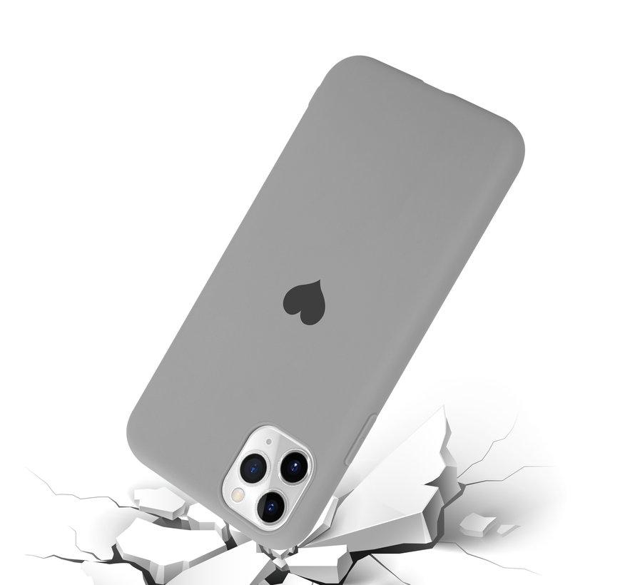 ShieldCase LOVE Silicone case iPhone 11 Pro Max (grijs)