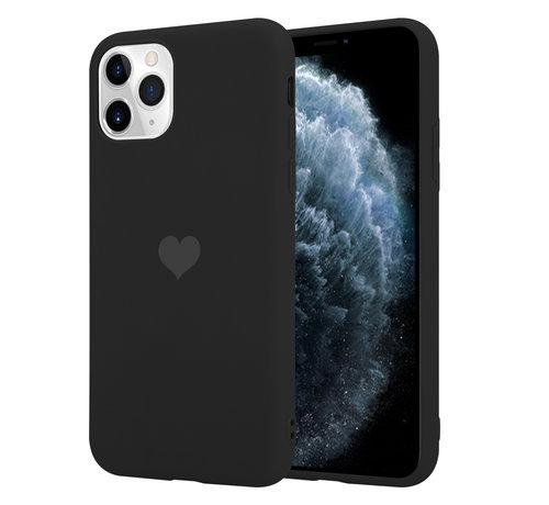 ShieldCase® ShieldCase LOVE Silicone case iPhone 11 Pro (zwart)