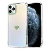 ShieldCase® iPhone 11 Pro Max hoesje met groen hartje