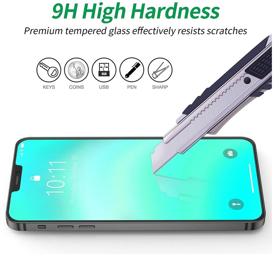 ShieldCase iPhone 12 - 6.1 inch 3D screen protector