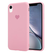 ShieldCase® Sweetheart silicone case iPhone Xr (roze)