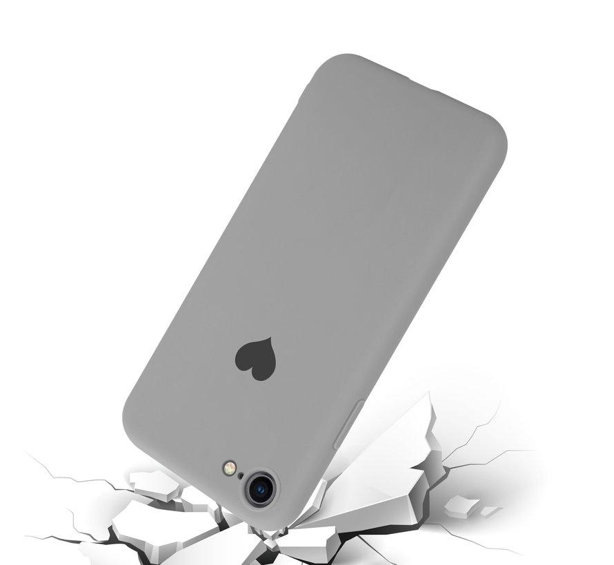 ShieldCase LOVE Silicone case iPhone 7 / 8 (grijs)