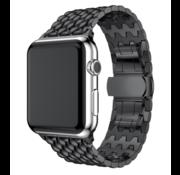 Apple Watch stalen draak band (zwart)