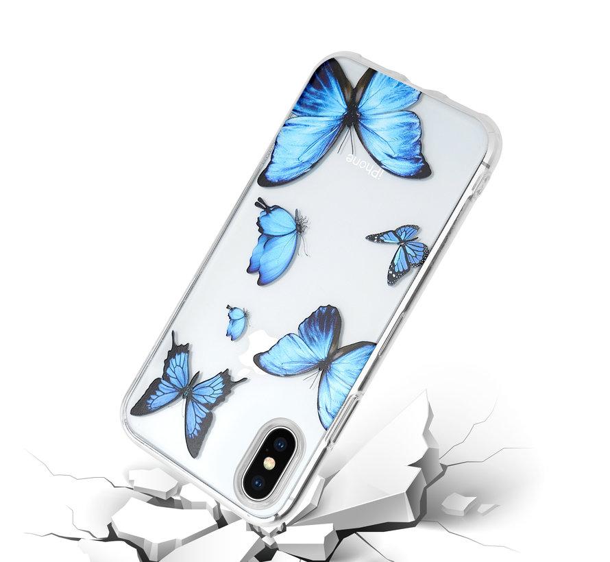 ShieldCase Give Me Butterflies iPhone X / Xs hoesje