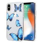 ShieldCase® iPhone X / Xs hoesje met vlinders
