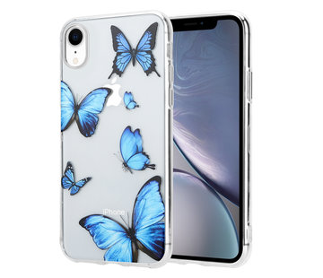 ShieldCase® iPhone Xr hoesje met vlinders