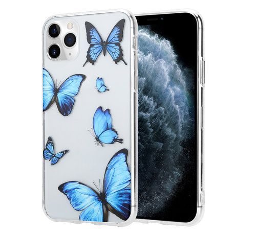 ShieldCase® ShieldCase iPhone 11 Pro hoesje met vlinders